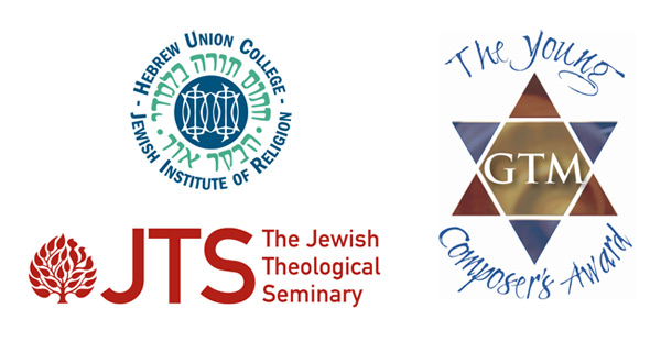 HUC-JIR, JTS, and GTM logos