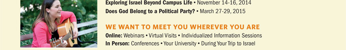Exploring Israel Beyond Campus Life; Does God Belong to a Political Party?