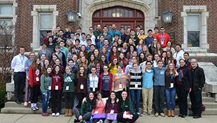 High School Retreat at HUC-JIR in Cincinnati